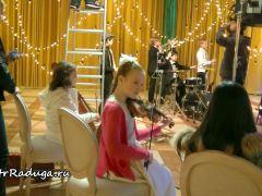 Съемки клипа на песню «Новогодняя колыбельная» - Музыкальный театр детей Радуга