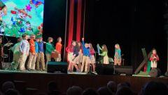 Выступление на концерте в ДК «Выборгский» - Музыкальный театр детей Радуга