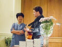 Выступление на презентации книги Т.Калининой «Дорога без конца» - Музыкальный театр детей Радуга