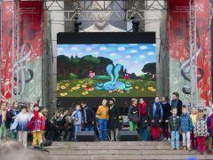 Выступление на фестивале «Музыка театра и кино» - Музыкальный театр детей Радуга
