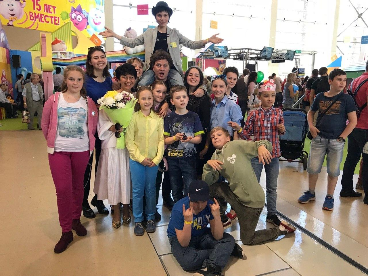 Выступление на фестивале анимации «Мультимир» - Музыкальный театр детей Радуга