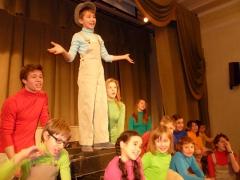 На Мойке прогон спектакля - Музыкальный театр детей Радуга