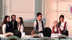Выступление МТД в Заксобрании - Музыкальный театр детей Радуга