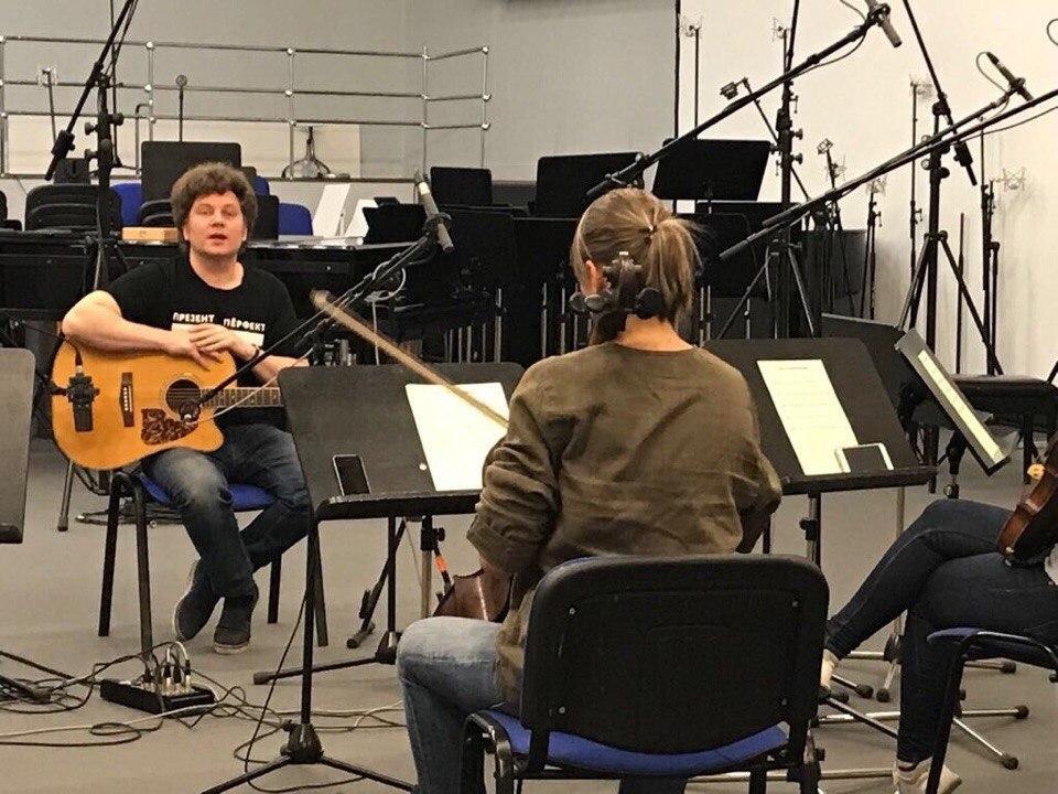 Запись нового альбома к проекту «Летающие звери» - Музыкальный театр детей Радуга