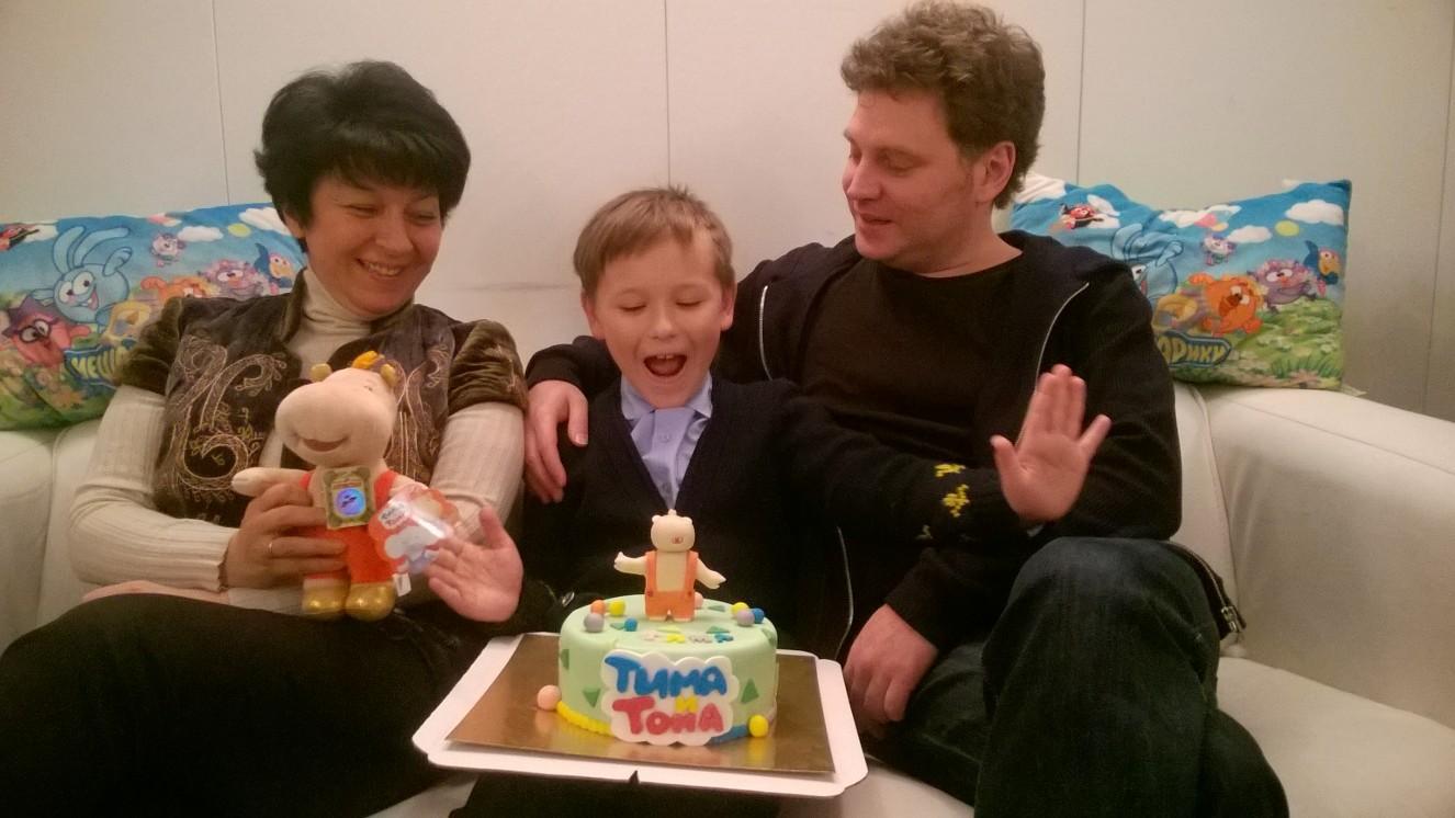 Первая годовщина мультпроекта «Тима и Тома»!