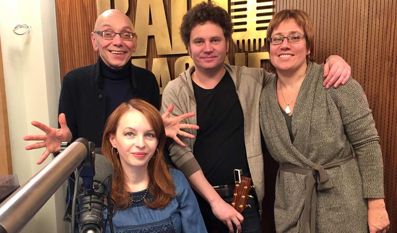 Сергей Васильев, Анвар Либабов с друзьями в гостях у радио Imagine