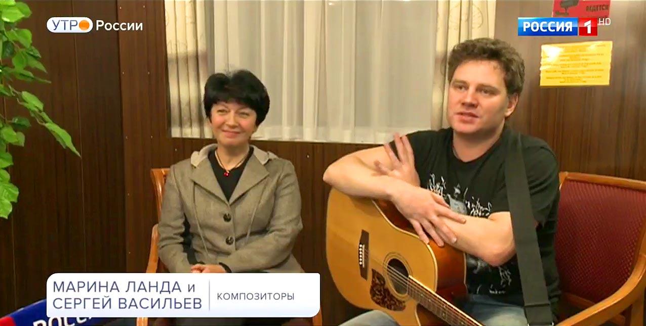 Интервью Марины Ланда и Сергея Васильева на фестивале «Суздаль 2017»