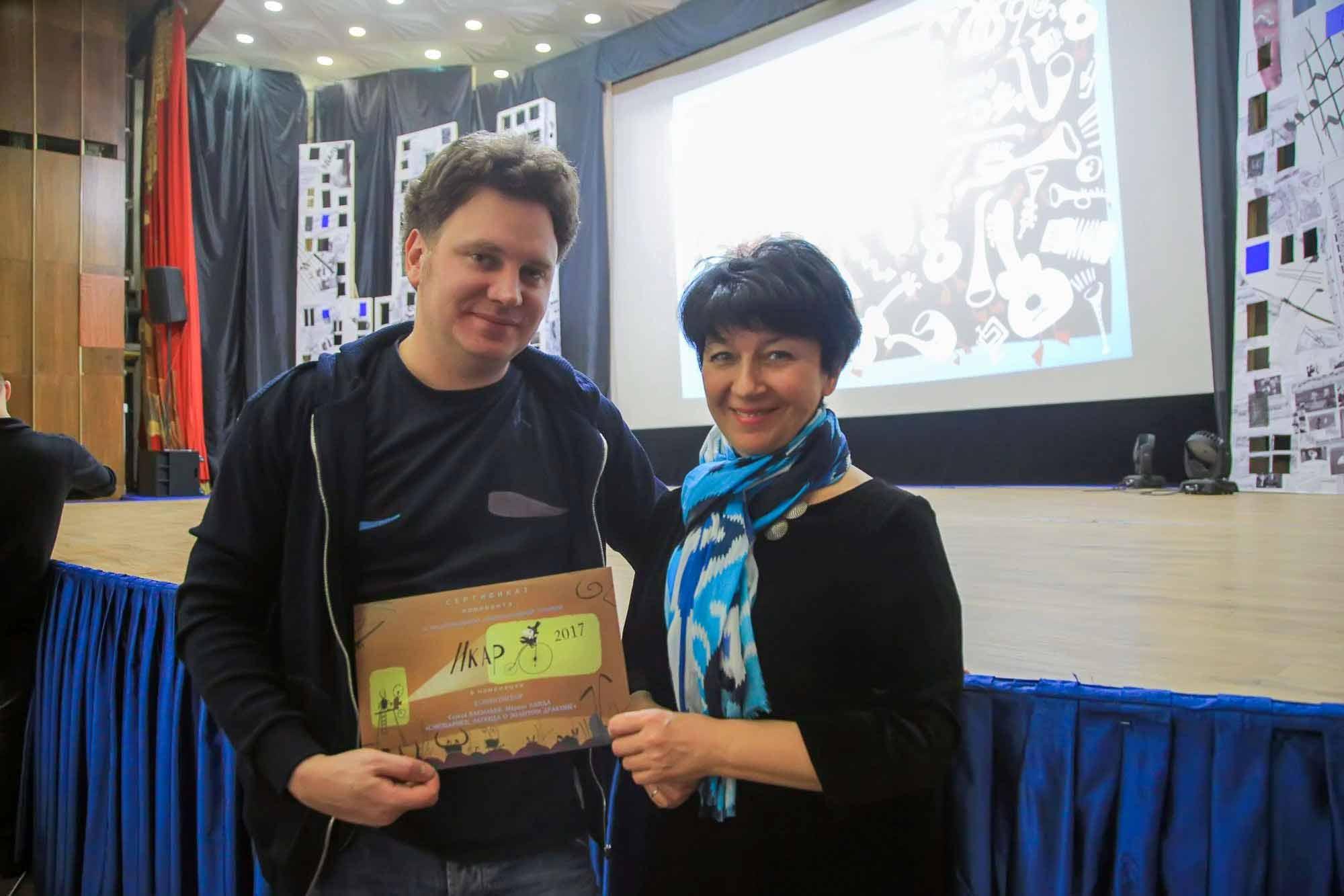 Номинация на III Национальную анимационную премию «Икар»