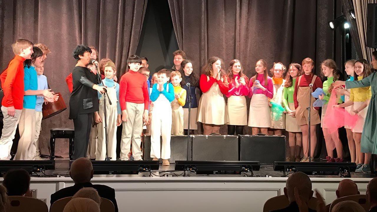 Музыкальный Театр Детей Радуга участвует в концерте для ветеранов